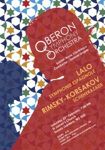 Oberon Symphony Orchestra Concert, 22nd February 2014